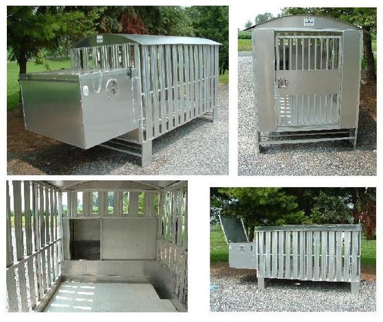 our outdoor kennels are made of durable aircraft aluminum and will last a minimum of twenty years the same material was used on the gateway arch